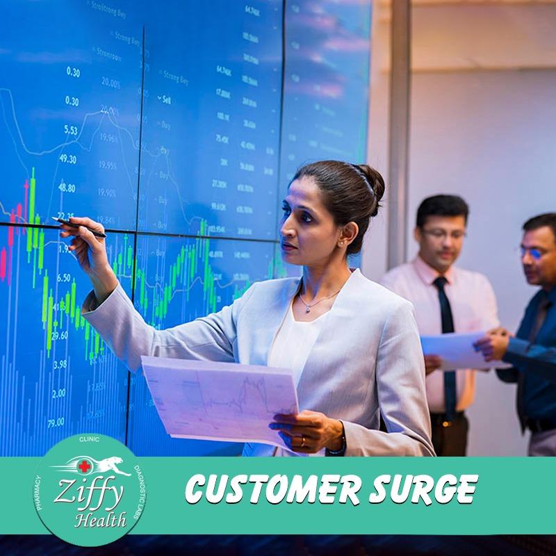 Customer surge